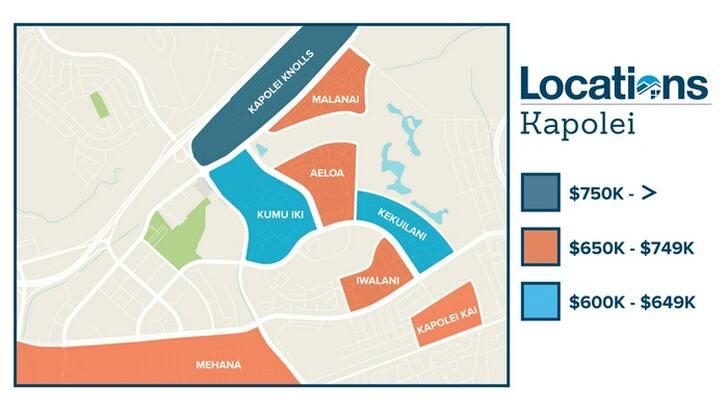 Kapolei Map