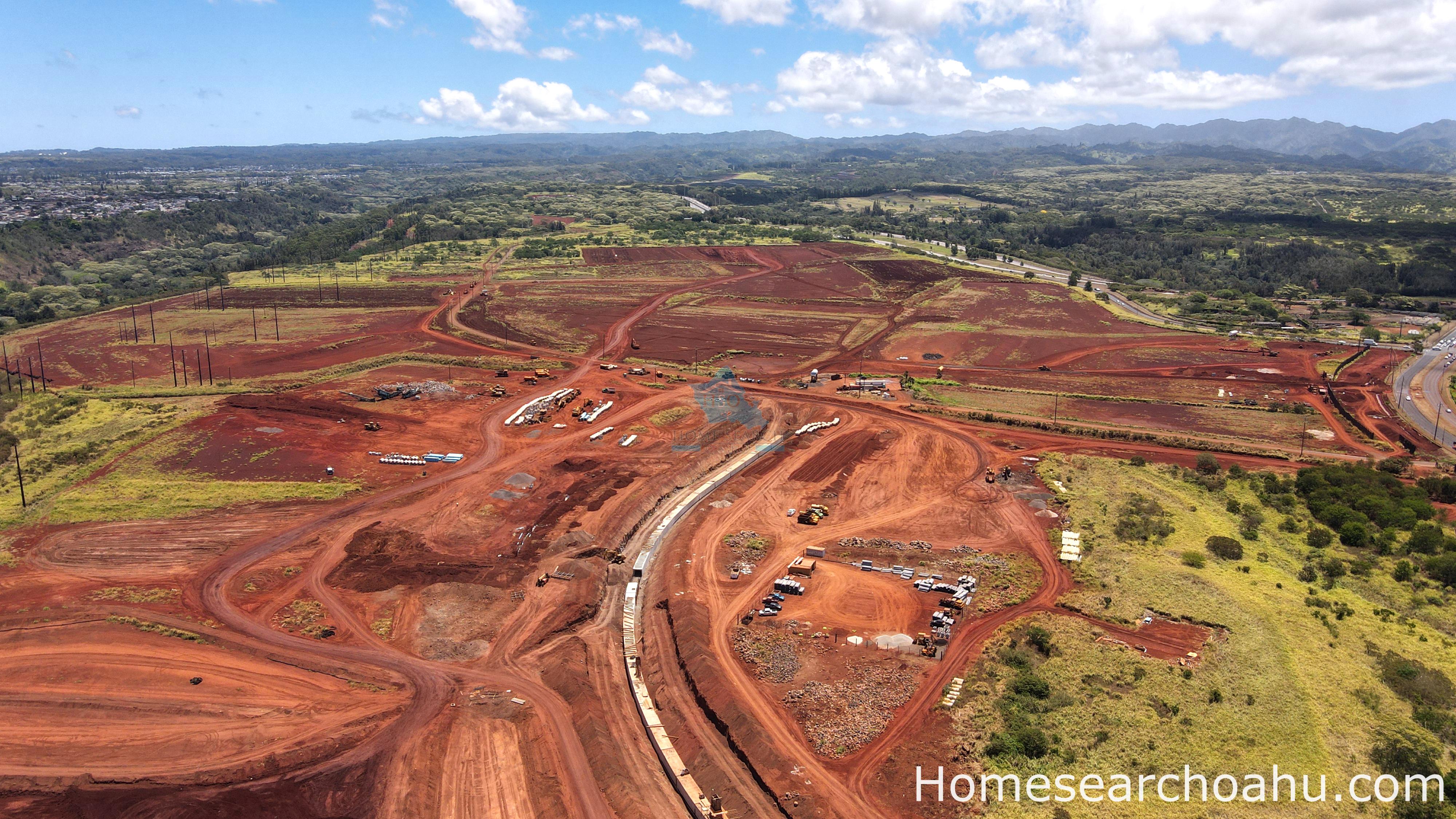 Koa Ridge Aerial View