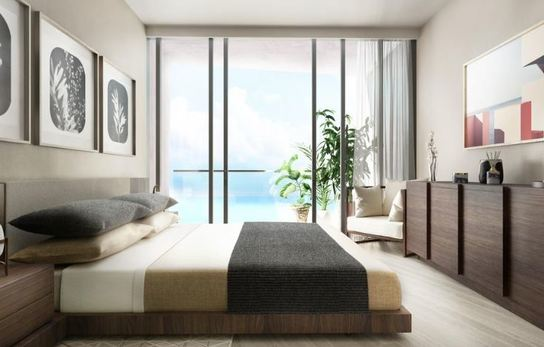 Ward Village Koula Bedroom Rendering