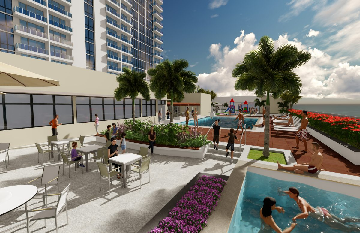 The Central Ala Moana - Amenity Deck