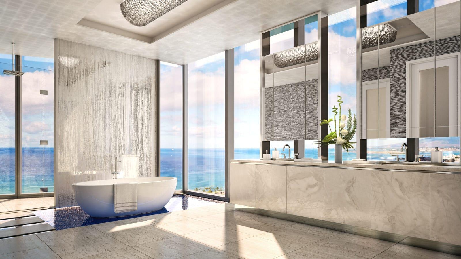 Waiea Grand Penthouse Bathroom