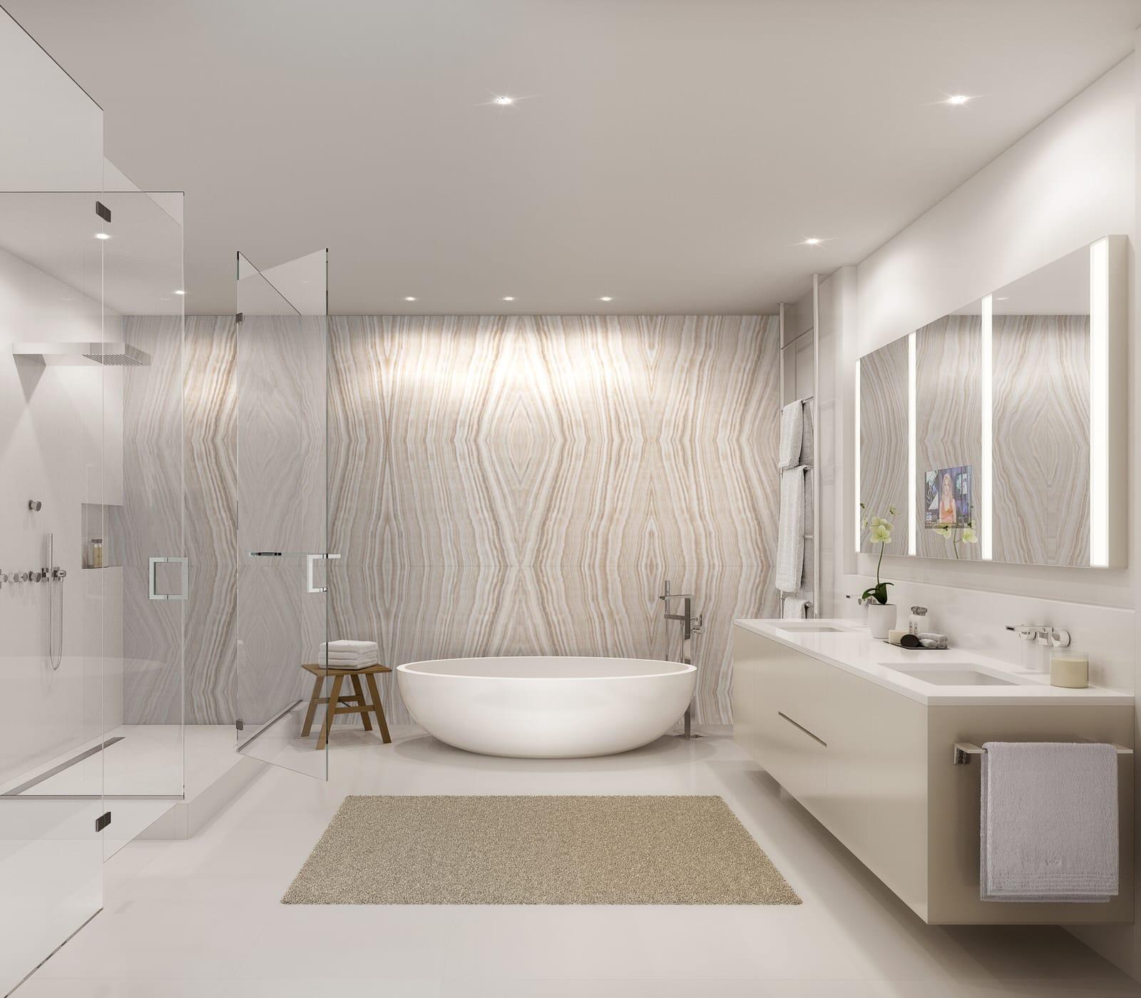 Waiea Master Bathroom