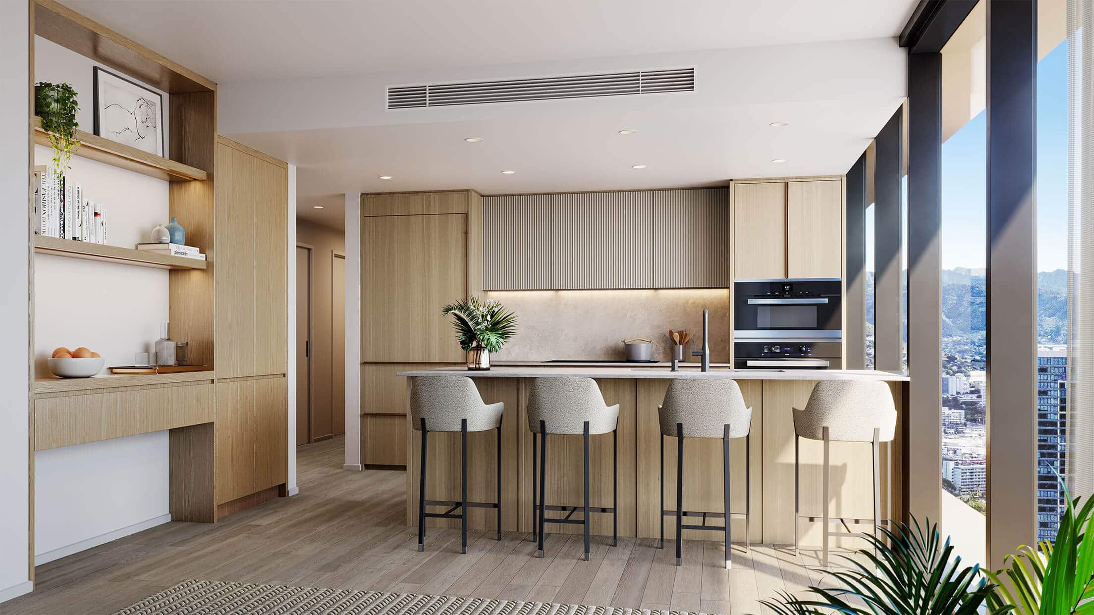 light scheme kitchen
