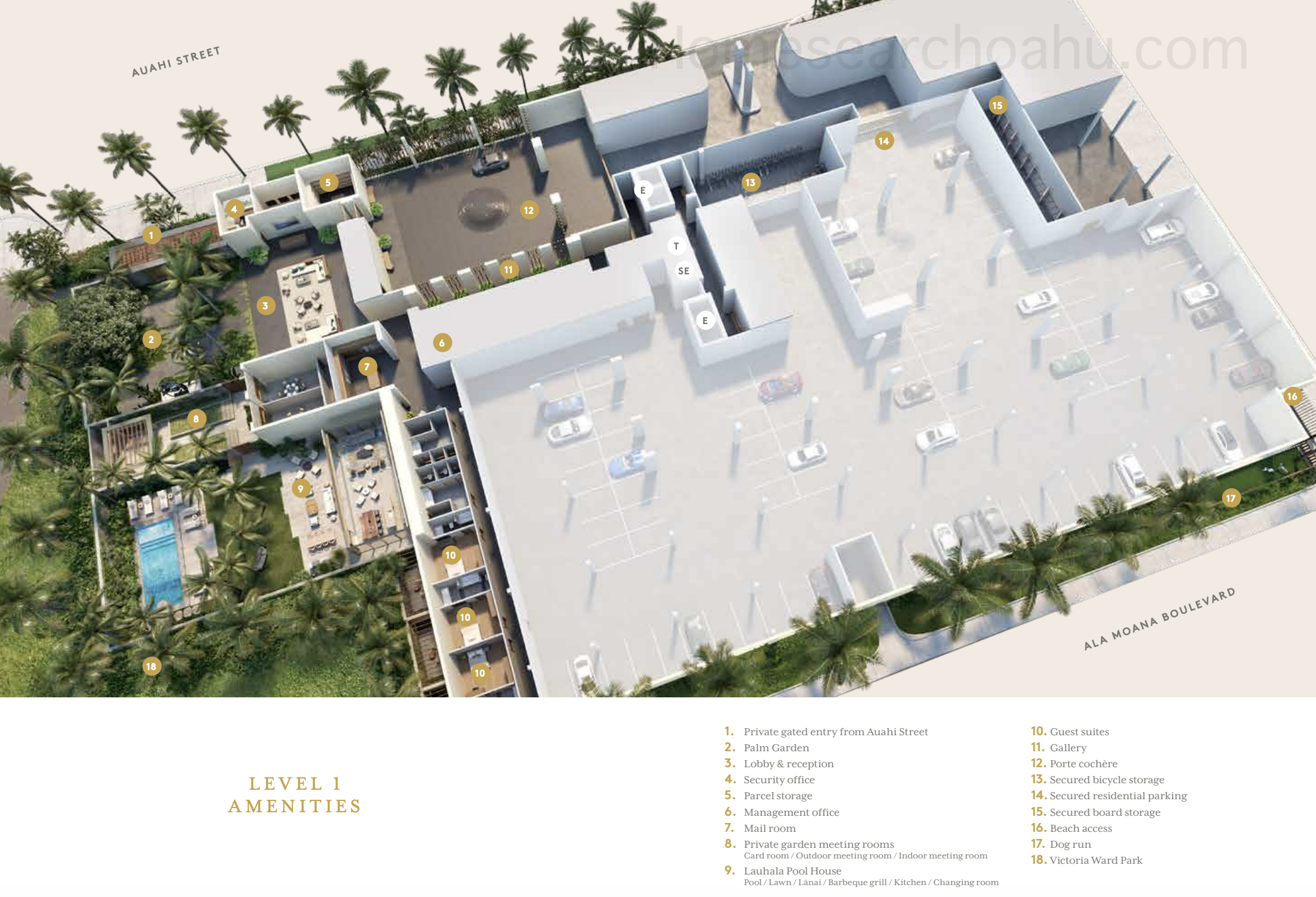 Victoria Place Amenities