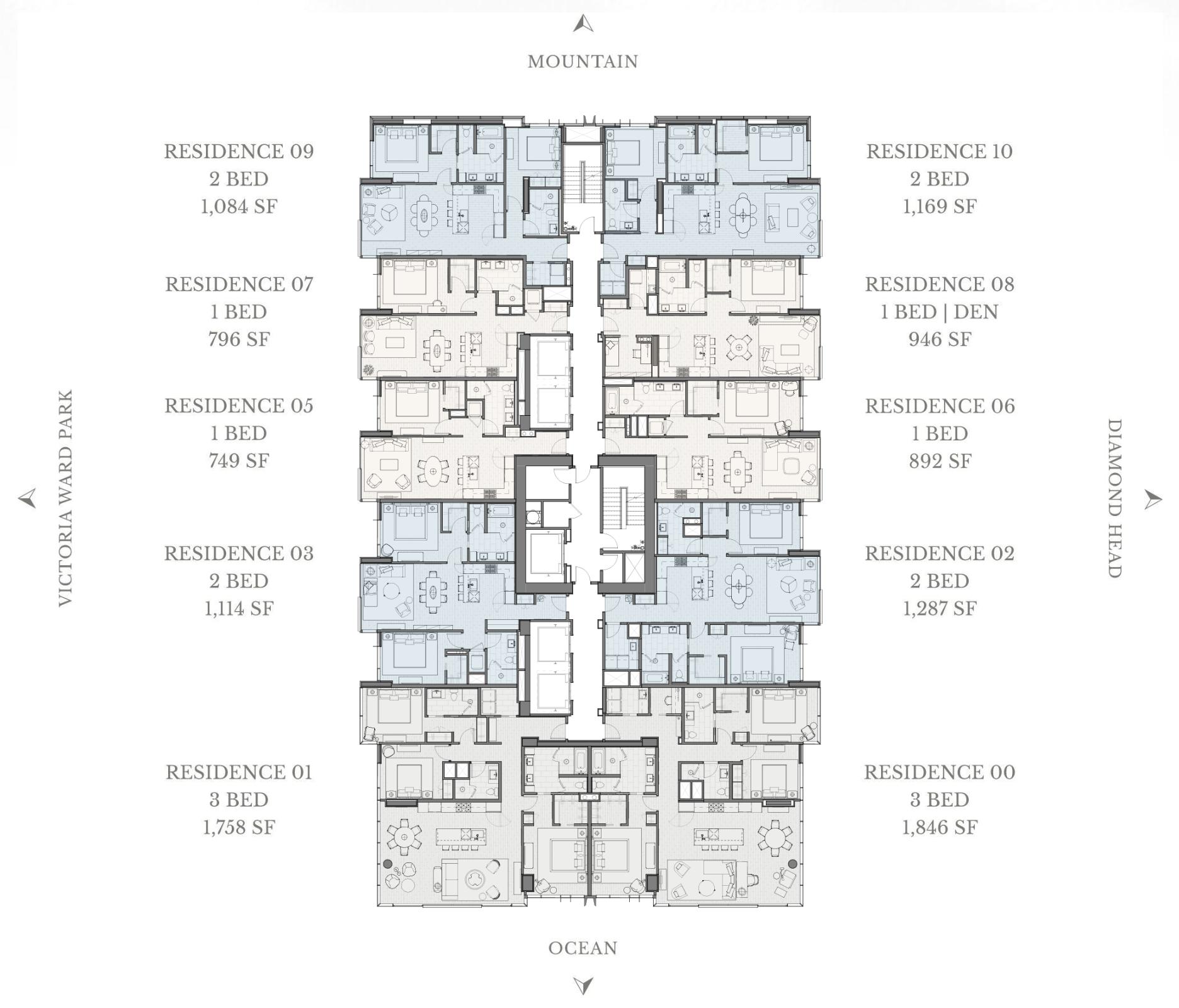 Victoria Place Floor Plan