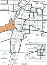 Ladera Heights Area Map