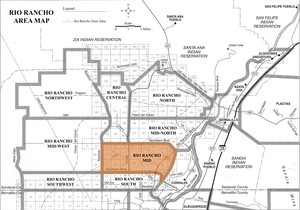 Rio Rancho Mid Area Map