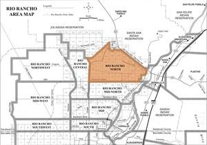 Rio Rancho North Area Map