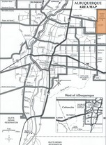 Sandia Heights Area Map