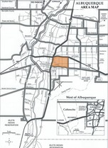 UNM Area Map