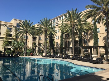 Avenue One residents have access to the community pool