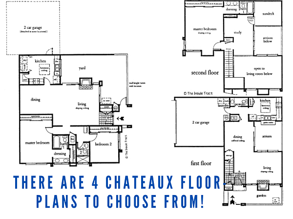 Chateaux floor plans