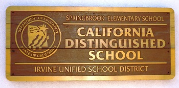 Award winning Springbrook Elementary School is a short walk away