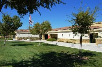 Blue Ribbon Oak Creek Elementary School is just across the street