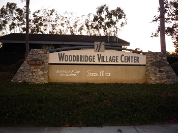 Catch a movie or take a yoga class at the Woodbridge Village Center