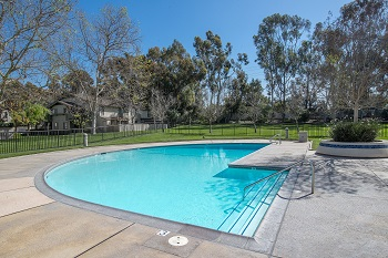 Clearbook Park features a beautiful pool and spa