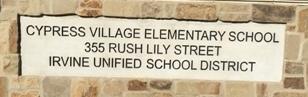 Cypress Village Elementary School _ Irvine Unified School District