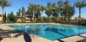 Cypress Village swimming pool at Arbor Park, Irvine
