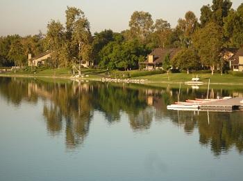 Take a relaxing walk around South Lake