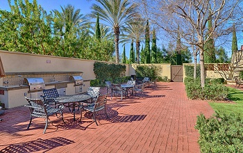 The BBQ area near the pool is a great place to entertain family and friends