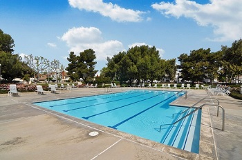 The Briarglen adult-only pool - The family pool is just around the corner