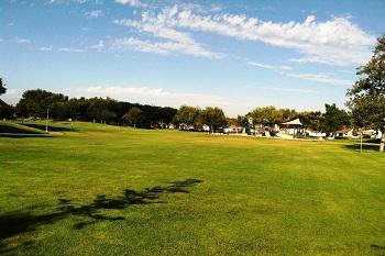 The Deerfield community park is just around the corner