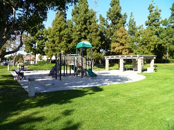 The little ones will love playing at the Woodflower tot-lot