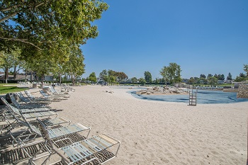 This Beach Club is just behind the Lakeshore community