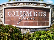 Welcome to Columbus Grove in Irvine