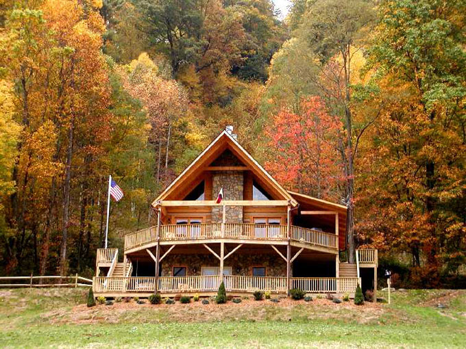 Homes for sale in western north carolina for Cheap cabin rentals in asheville nc