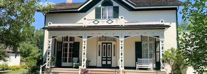Alexander Graham Bell House in Brantford Ontario