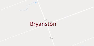 Bryanston Ontario Real Estate Map