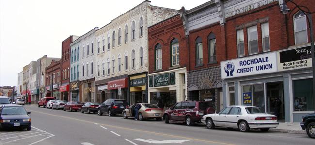 Downtown Ingersoll