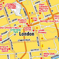 Map Of London With Neighborhoods.New Homes In London Ontario New Houses For Sale In London On