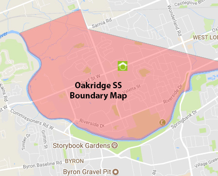Oakridge SS Boundary Map