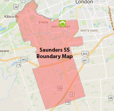 Saunders SS Boundary Map
