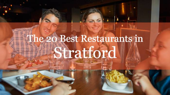 The 20 Best Restaurants in Stratford, Ontario