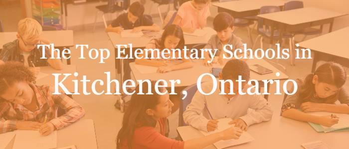 The Top Elementary Schools in Kitchener, Ontario