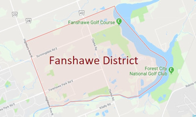 Fanshawe District Area Map