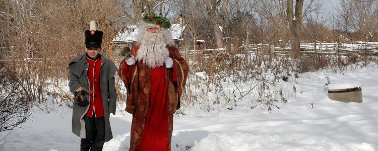 Fanshawe Pionner Christmas Village London Ontario