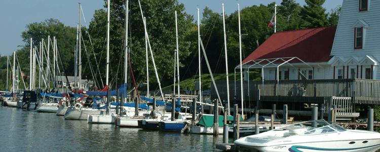 Grand bend marina ontario