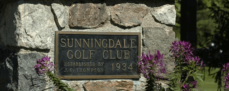 History of sunningdale london ontario