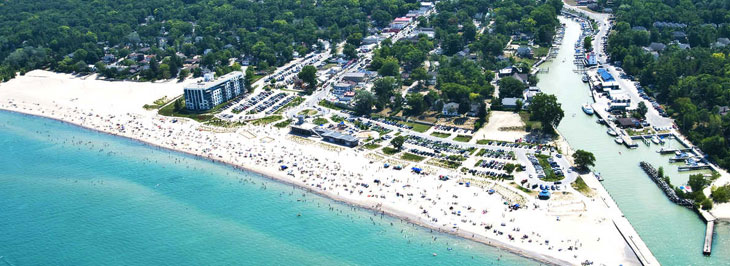 Houses for sale in grand bend Ontario Banner