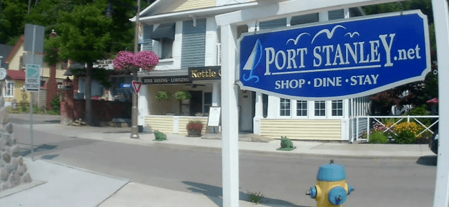 Living in Port Stanley Ontario