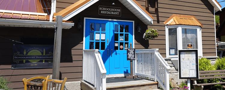 School house restaurant grand bend