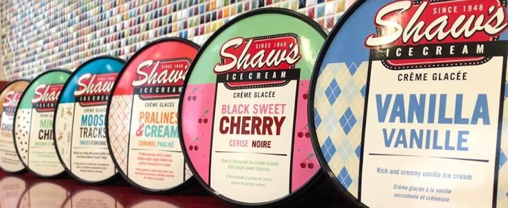 Shaws ice cream St Thomas Ontario