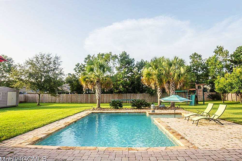 house for sale with pool mobile alabama theodore