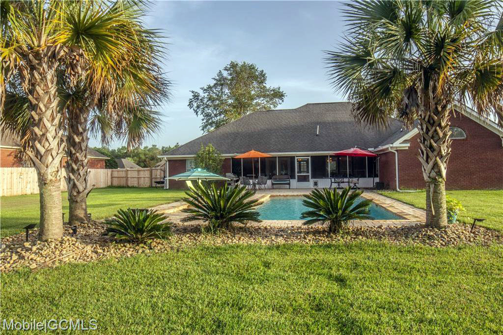 homes for sale with pool mobile alabama theodore
