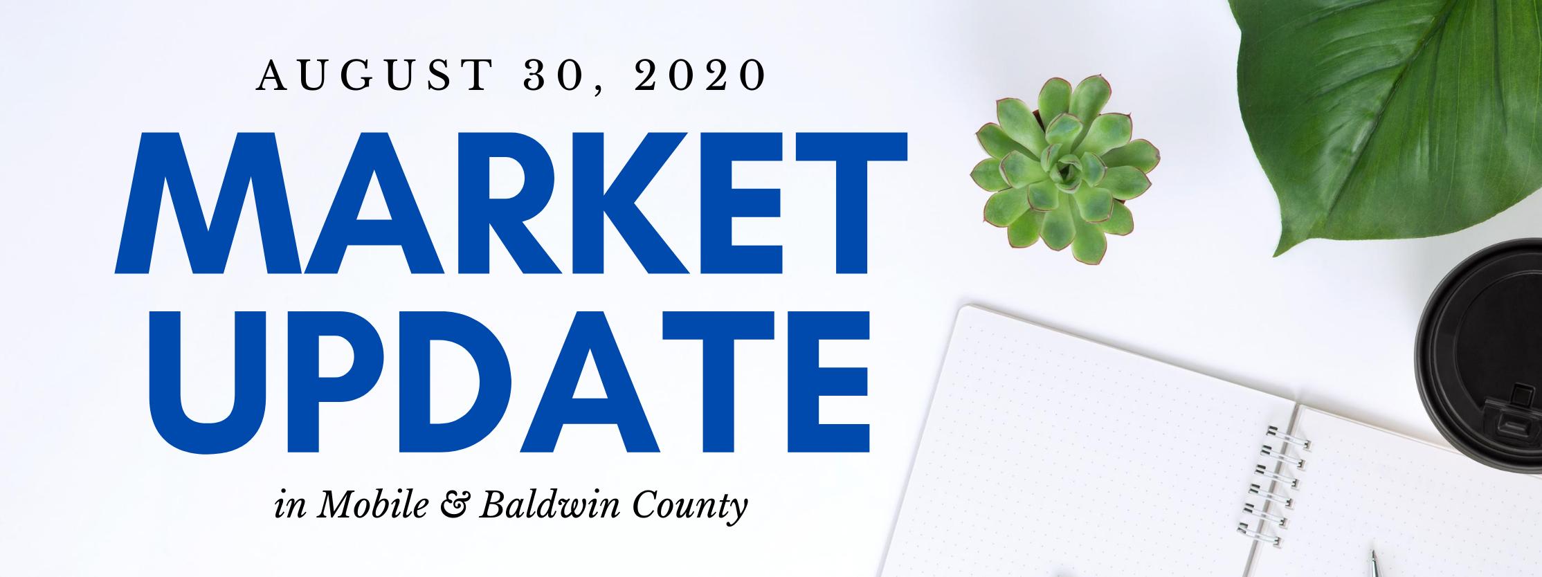mobile county baldwin county alabama real estate market update