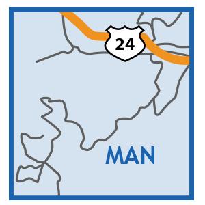 manitou Colorado Springs Map